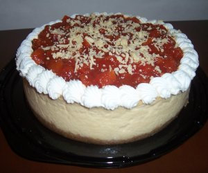 Cheese cake de queso de bola
